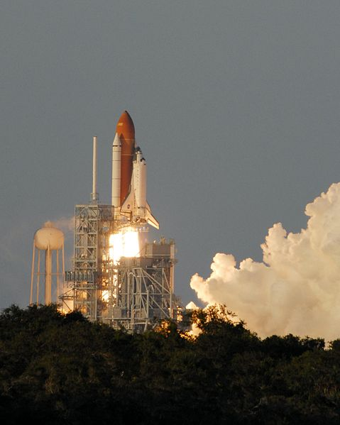 Space Shuttle Columbia taking off